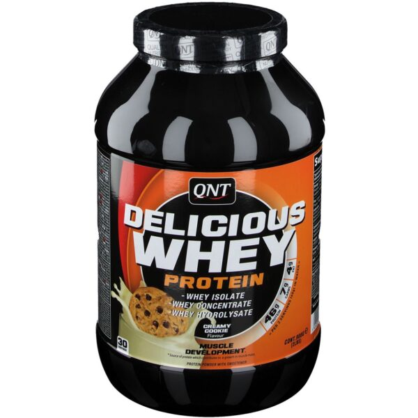 QNT® Delicious Whey Protein Creamy Cookie
