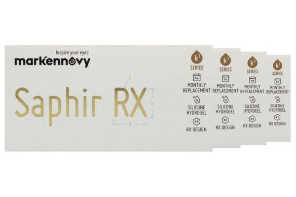 Saphir Rx Monthly Spheric 4 x 3 Monatslinsen