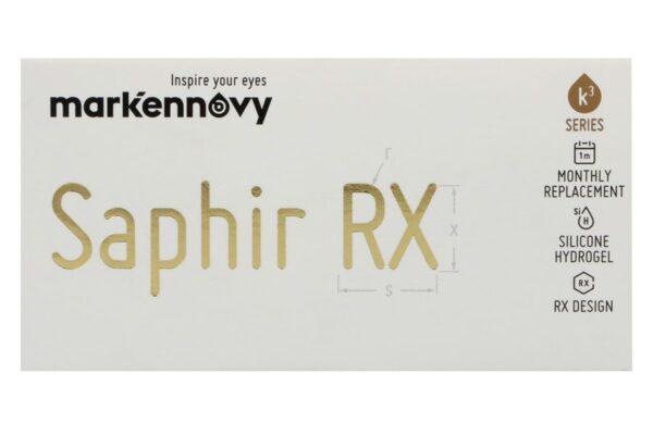 Saphir Rx Monthly Toric 3 Monatslinsen