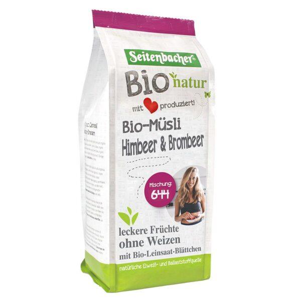 Seitenbacher® Bio natur Bio Müsli Himbeer & Brombeer